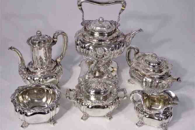 Tiffany & Co. Chrysanthemum Railway Tea Set