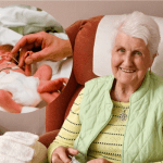 Mother of Premature Baby Born 70 Years Ago Knits 70 Hats for Premature Babies in the Hospital