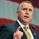 Senator Thom Tillis Says He Will Support President Trump's Supreme Court Nominee