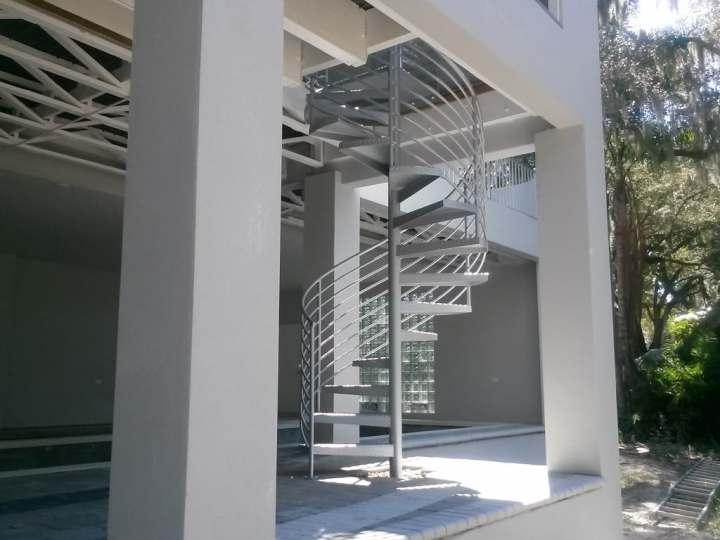 Aluminum Spiral Stairs Sarasota - Tampa
