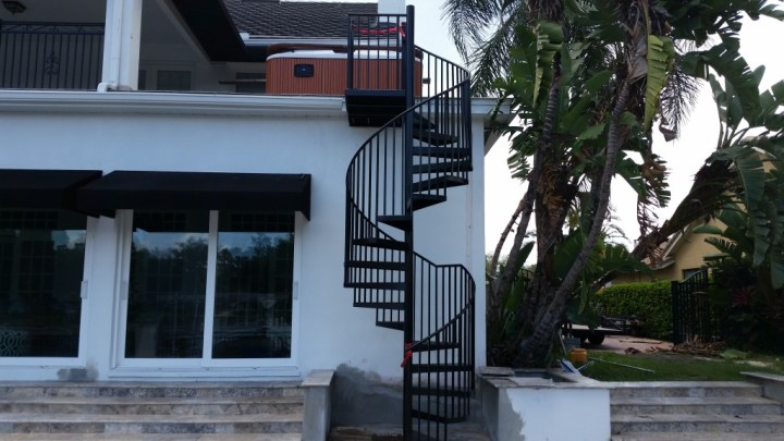 Sarasota Spiral Stairs Tampa Nagy