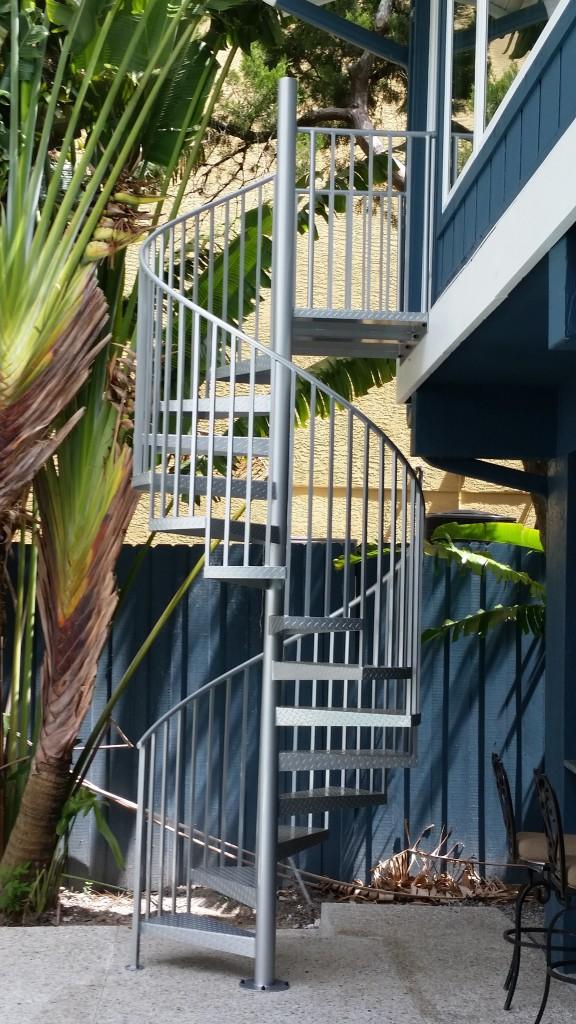 Aluminum Spiral stairs Sarasota