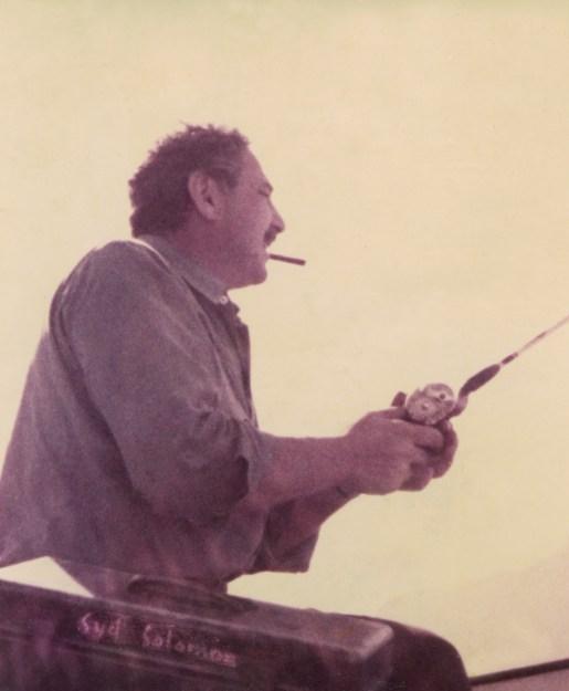 Syd Fishing @ Estate of Syd Solomon