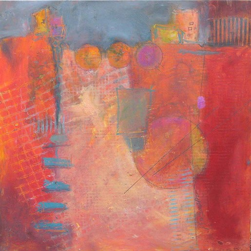 Artwork featured in Jill Krasner's exhibition, Transitions Big and Small, opening September 6.