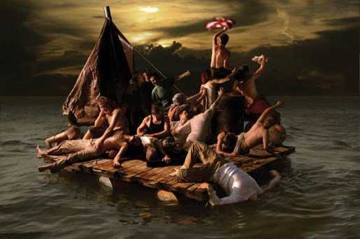 Generic Art Solutions // The Raft, 2010 // 30x40 inches // archival digital print on photographic paper