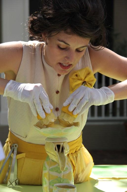 "Cheyenne Rudolph performing ""Lemon-Aider"""