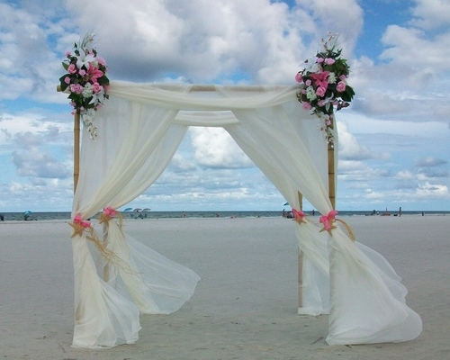 Pretty in Pink Beach Wedding Package