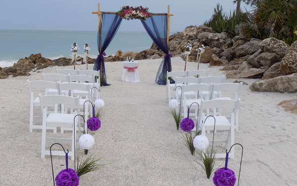 Siesta key Florida Enchantment Beach Weddings by SarasotaWeddingIdeas.com Image