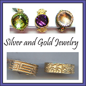 Silver and Gold Jewelry