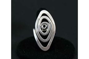 Spiral Eye Ring
