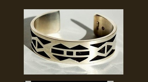 Crow Cuff Bracelet by Robert M. Gress