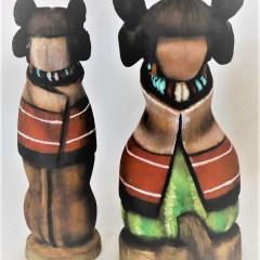 carvings and kachinas