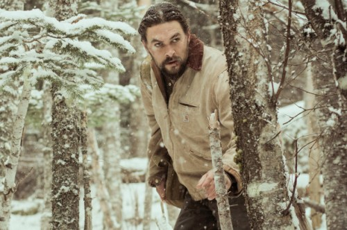 Jason Momoa earns his hunk status in camp thriller 'Braven'