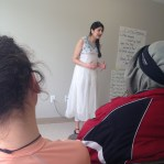 "Anjalie Sandhu performing ""Places that have no names"" by Fauzia Rafique"
