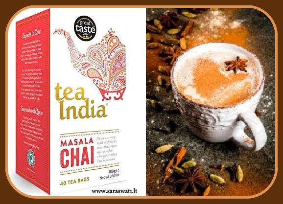 Prieskonių arbata MASALA CHAI