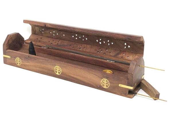 Smilkalinė medinė dėžutė