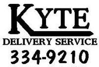 Kyte Delivery Service