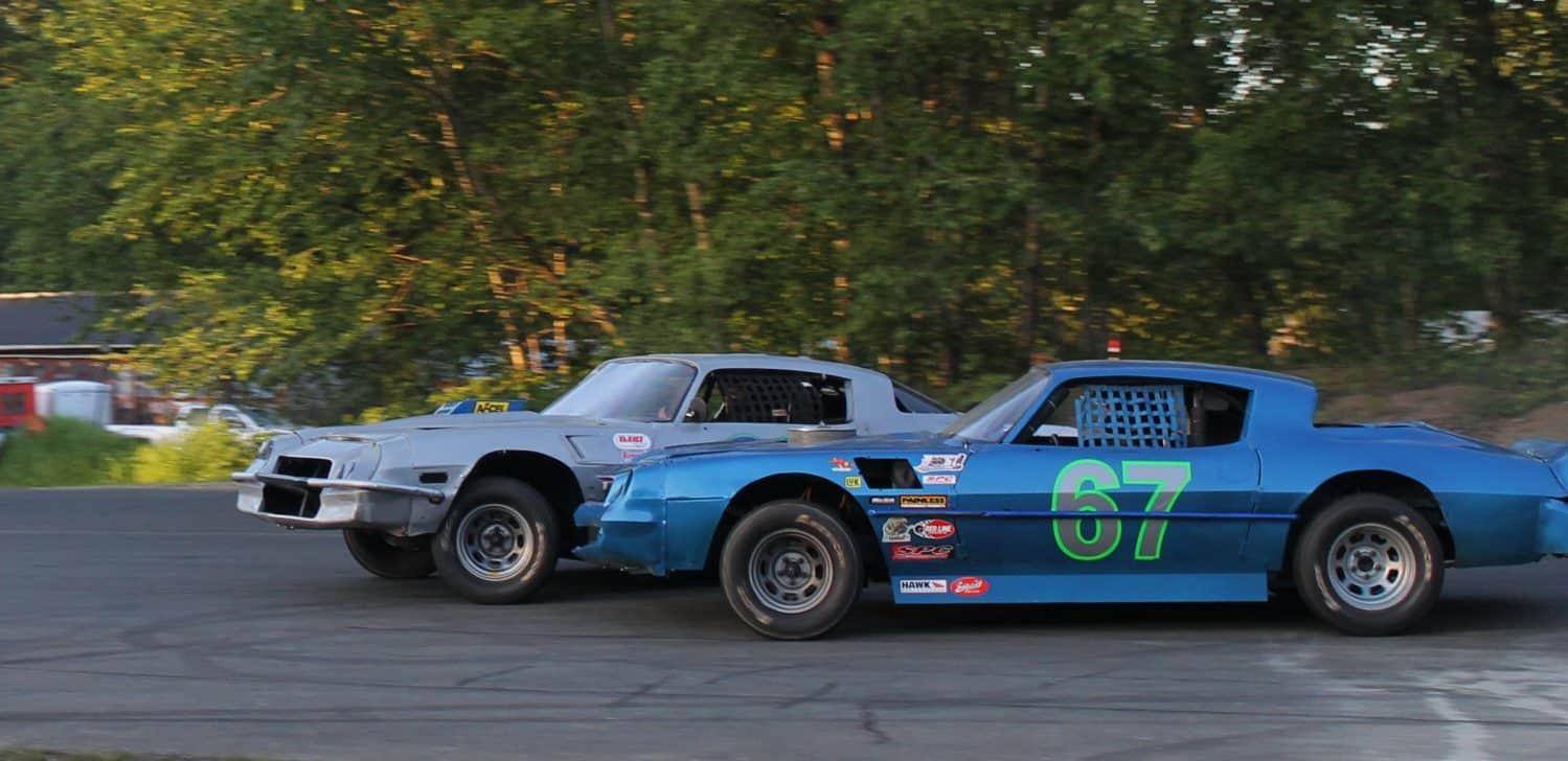 IMCA Modifides, Bomber Cars, Hornet Cars - Saratoga Speedway
