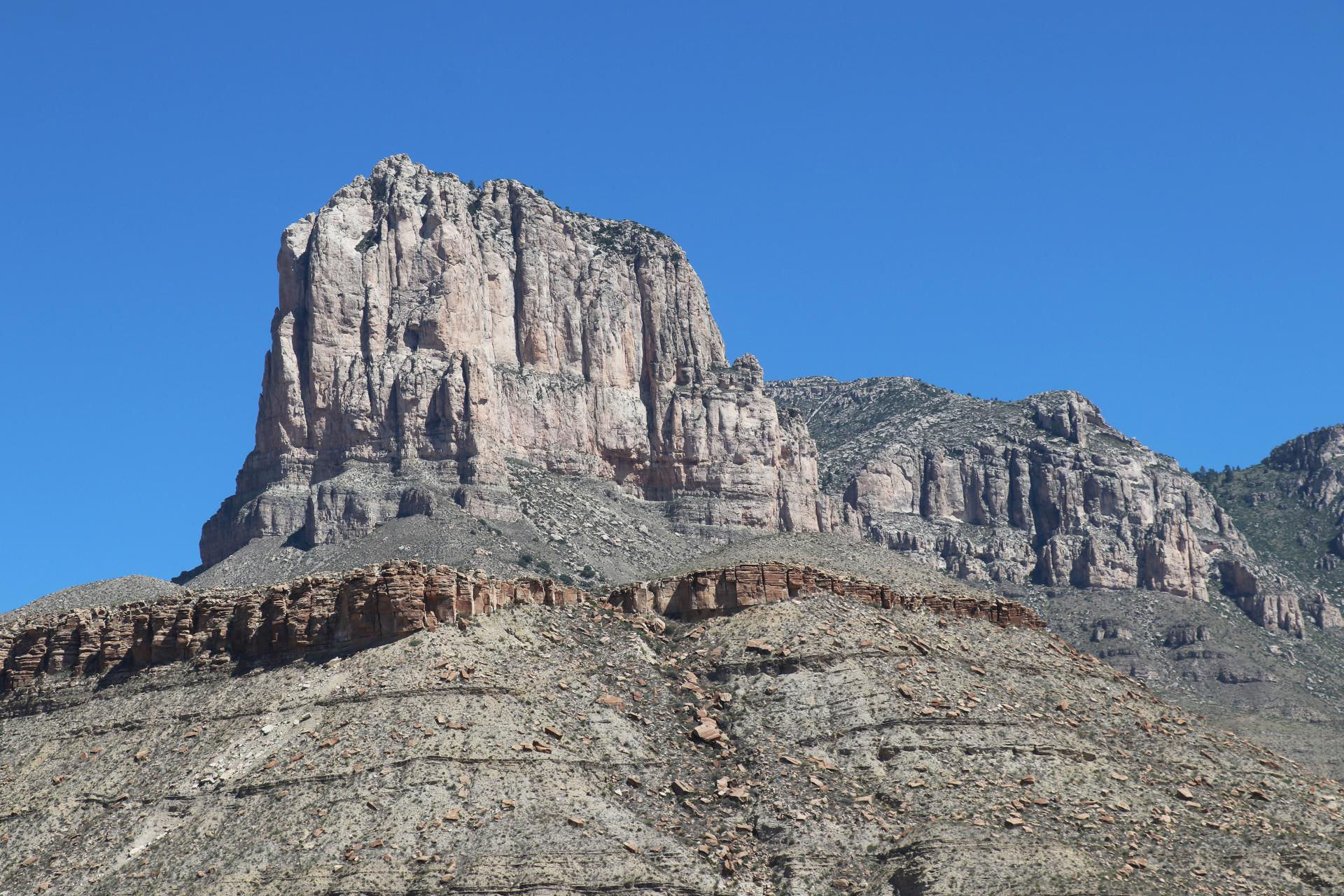 El Capitan Photographed By Sara Turbyfill At Guadalupe Mountains National Park In Texas.
