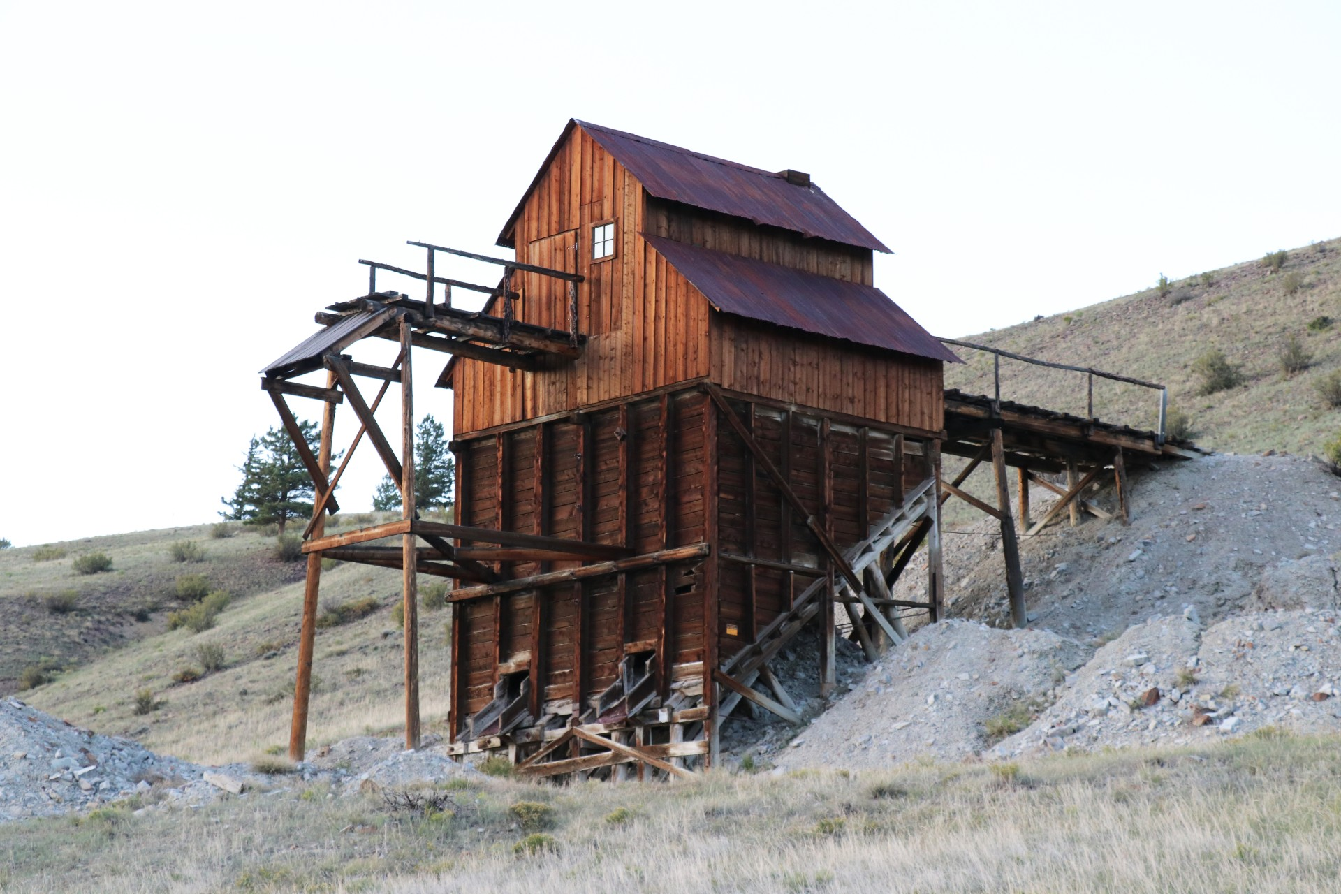 Historical Mining Site Photographed By Sara Turbyfill In Mineral County, CO.