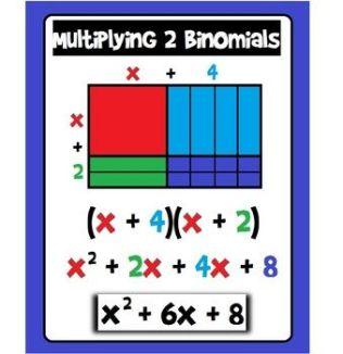 multipying binomials