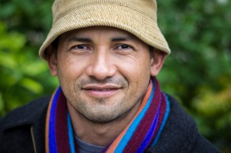 7. A man with a Salvadorian scarf (Abbesses)