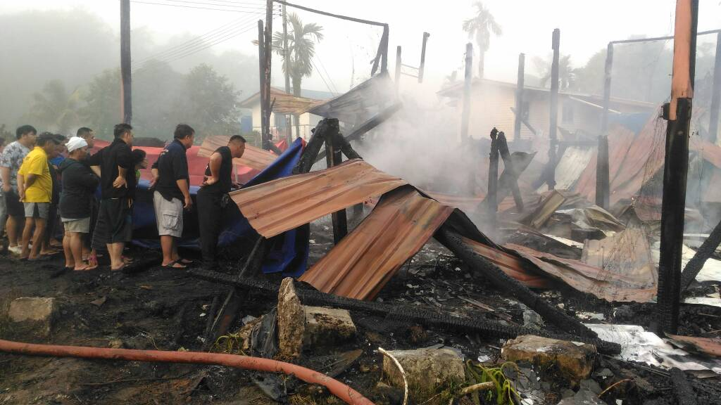 Image result for Teacher perishes, two injured in Miri fire