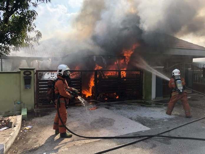 Rumah Bekas Penyampai Berita Tv3 Terbakar Sarawakvoice Com