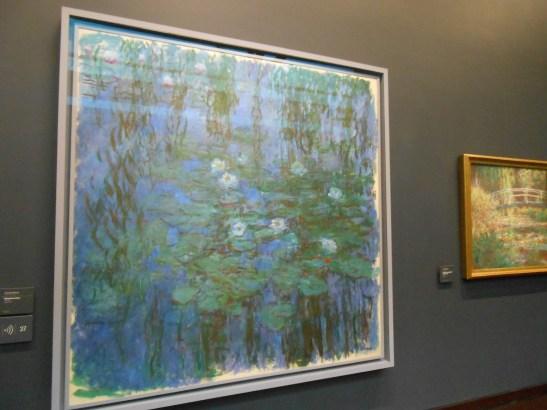 Blue water Lilies-Monet