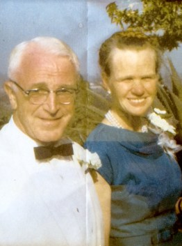 My grandmother and grandfather. Unfortunately, I never met my grandfather.