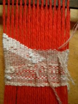 day 3 weaving progress