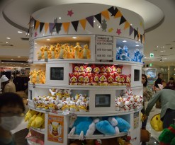 I wanted all the plushies!!