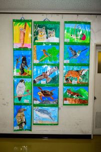 Very talented elementary students' works
