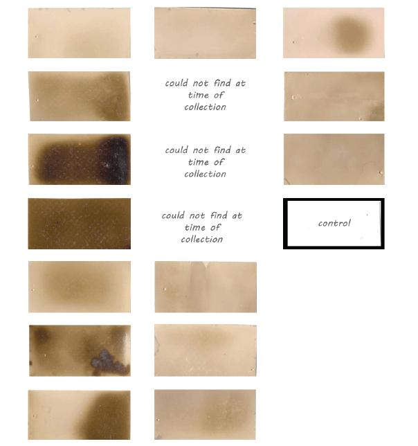 Collected sensing paper, 2014.