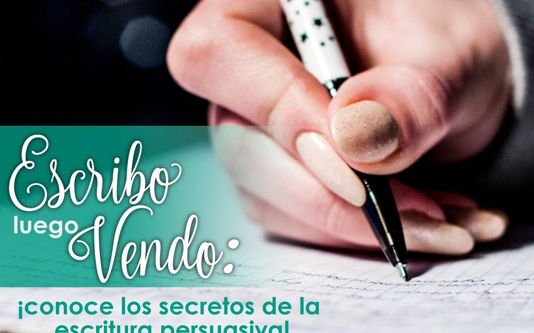 Escribo Luego Vendo: Conoce los secretos