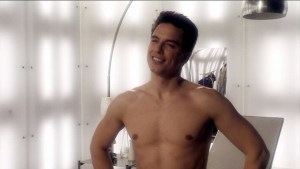 I figured I'd start this article with a shirtless John Barrowman...you know, for journalistic integrity (Image courtesy of the Doctor Who Wiki)