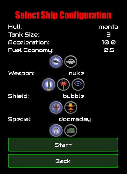 ship-config screen