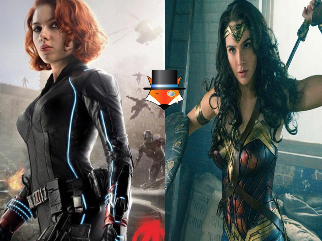 An Icon for woman empowerment: Wonder Woman VS Black Widow