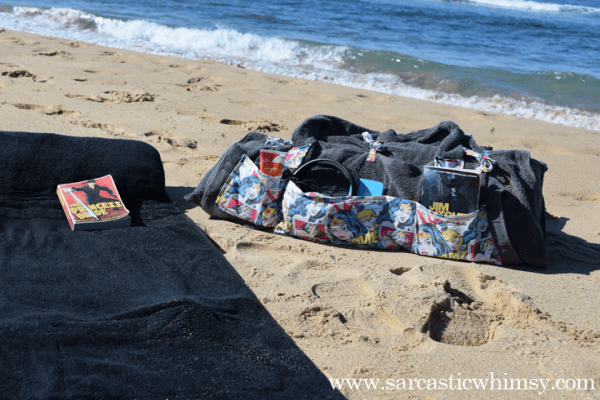 Wonder Woman Beach Bed Craft Tutorial.