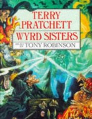 "Cover of ""Wyrd Sisters (Discworld Novels)..."