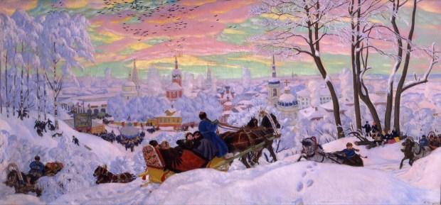 Boris Kustodiev - Shrovetide