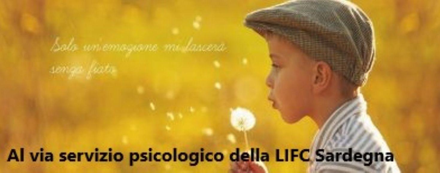Al via servizio psicologico della LIFC Sardegna ODV