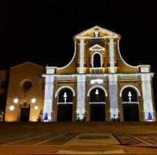 La Basilica di Bonaria vestita a festa, Cagliari (foto Instagram @caramellina76)
