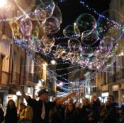 Natale Magico in Via Garibaldi a Cagliari (foto Instagram @luisapiras)