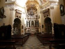 Interno della chiesa di San Michele - Cagliari