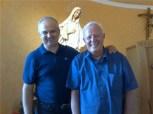 Medjugorje: Ivan e Padre Livio Fanzaga l'8 Agosto 2013 - Foto di Radio Maria - Tutti i diritti riservati