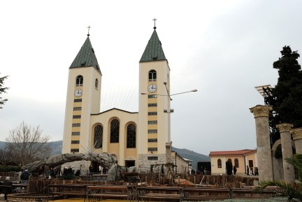 Medjugorje: Chiesa San Giacomo Apostolo - Foto di Sardegna Terra di Pace - Tutti i diritti riservati