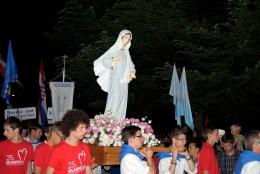 Medjugorje: processione – Foto di Sardegna Terra di Pace – Tutti i diritti riservati