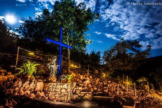 Medjugorje: Croce Blu (2) - Foto di Mateo Ivanković – Tutti i diritti riservati