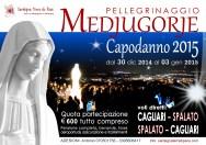 Locandina Pellegrinaggio Medjugorje Capodanno 2014/2015 – Foto di Sardegna Terra di Pace – Tutti i diritti riservati